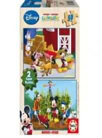 Puzzle Mickey Mouse Club House 2x50