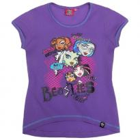 Bluza cu maneca scurta Monster High - Hello Kids