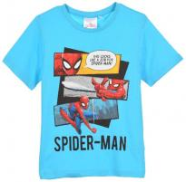Tricou maneca scurta, SpiderMan, bleu
