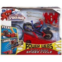 HASBRO - Figurina Spider Man Spider Cycle